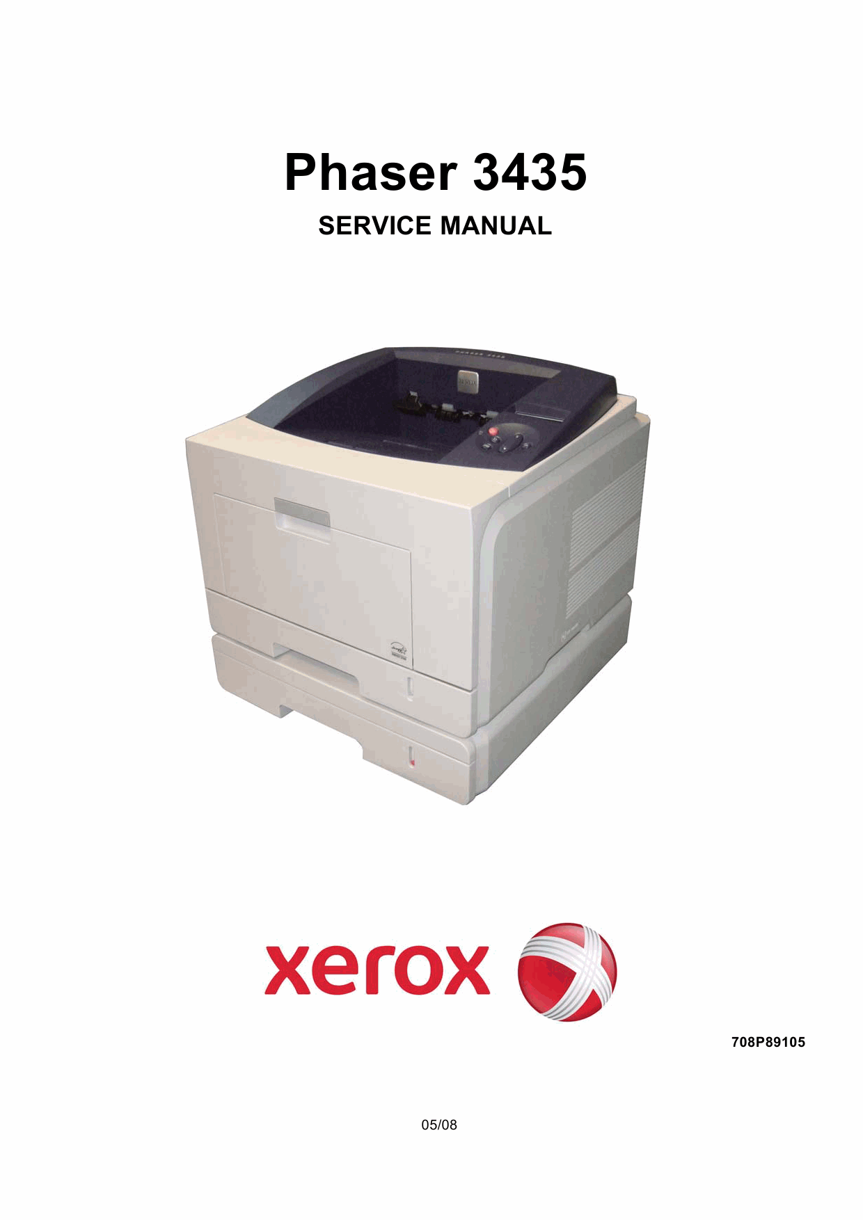 Xerox Phaser 3435 Parts List and Service Manual-1